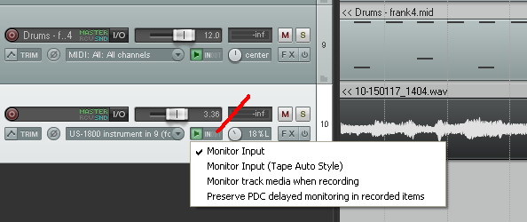Reaper question     maybe universal PC DAW question???? - VS-Planet